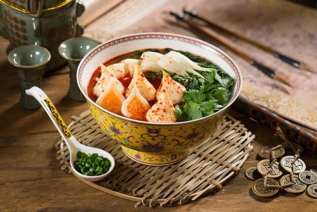 Double Bursting Fishball Noodles