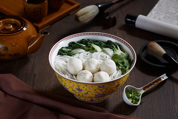 Fu Zhou Fish Ball Noodles