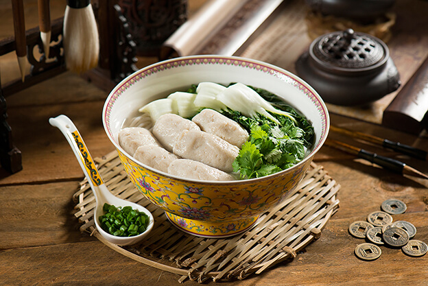 Handmade Fish Paste Noodles